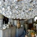 STUNNING 6 ARM SWEDISH EMPIRE STYLE CHANDELIER  - picture 6