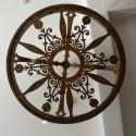 19TH CENTURY IRON CORONA CEILING LIGHT - picture 3