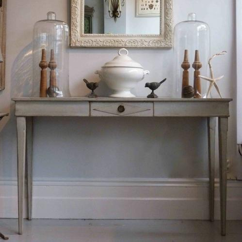 LATE 19TH CENTURY SWEDISH GUSTAVIAN STYLE CONSOLE