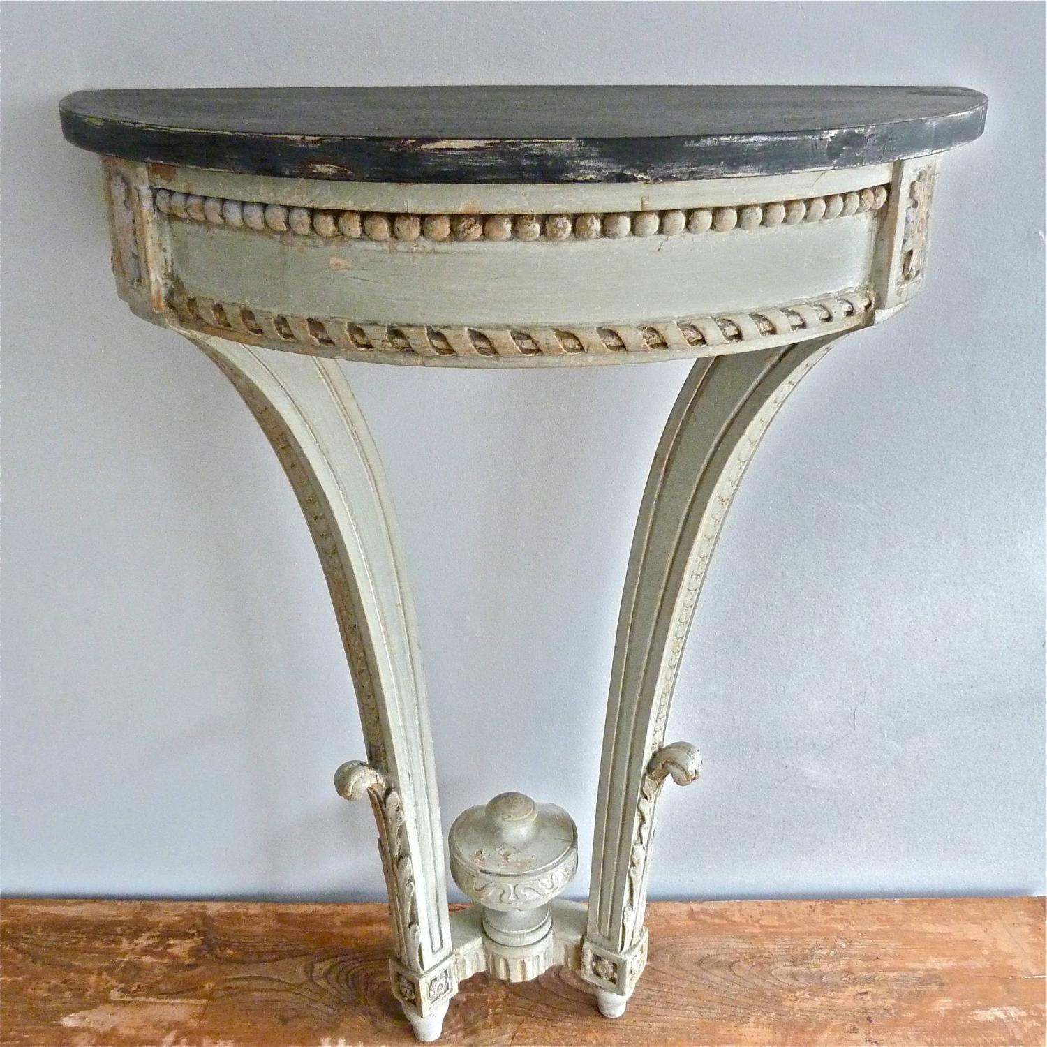 19TH CENTURY LOUIS XVI STYLE CONSOLE TABLE