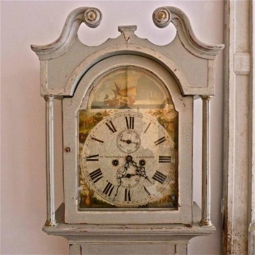 EARLY 19TH CENTURY ENGLISH LONGCASE CLOCK