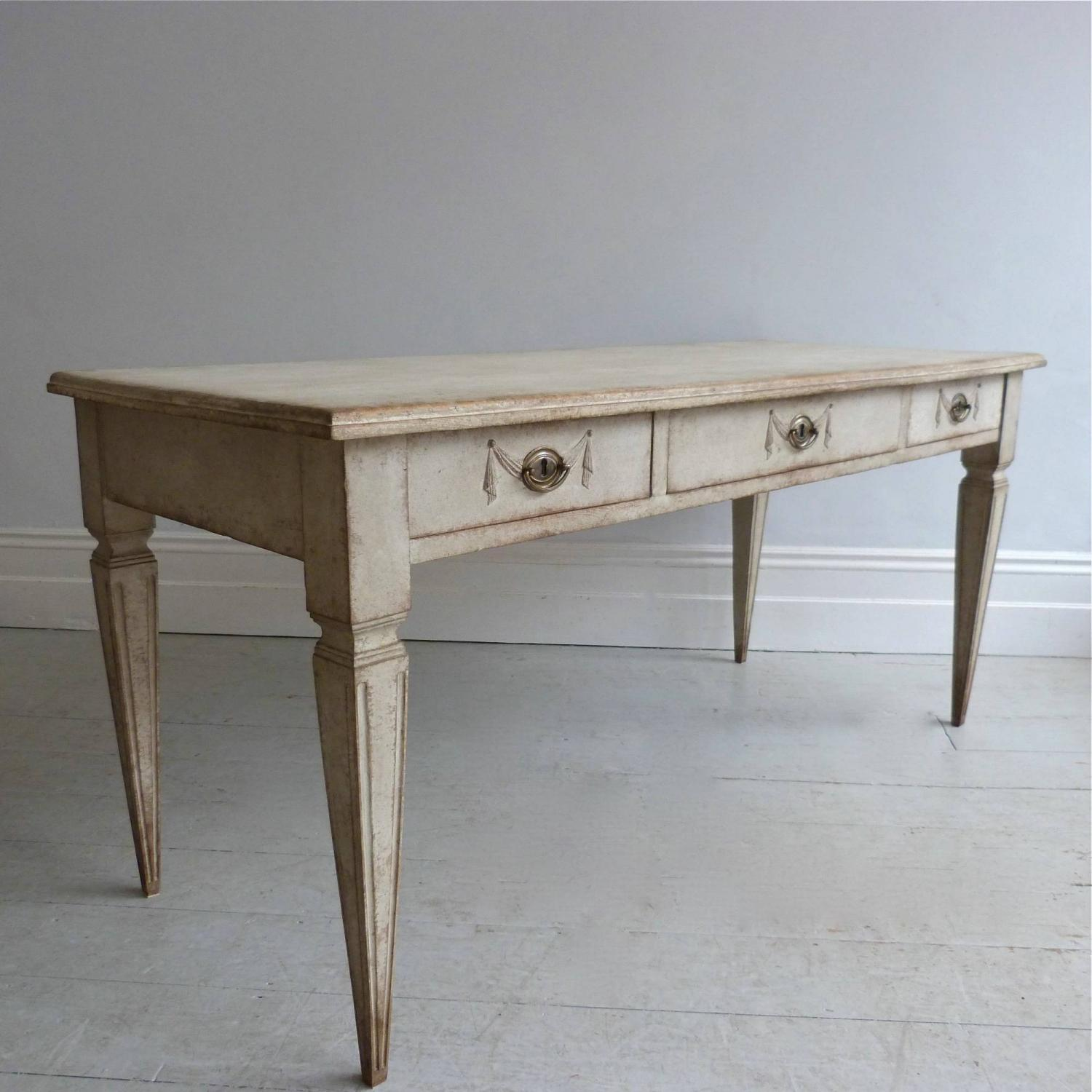 RARE 19TH CENTURY GUSTAVIAN STYLE SERVER OR CONSOLE