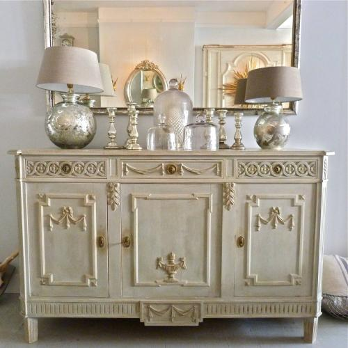 LATE 19TH CENTURY SWEDISH GUSTAVIAN STYLE SIDEBOARD