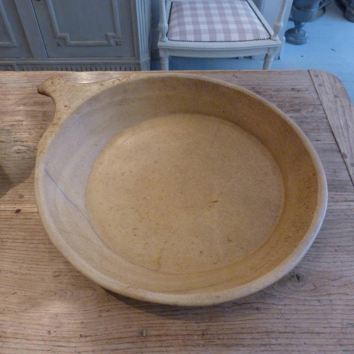 EXTRA LARGE RAJASTHAN MARBLE FOOD BOWL