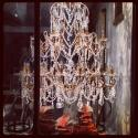INCREDIBLE 5FT TALL BEADED & DROPLET CHANDELIER - picture 1