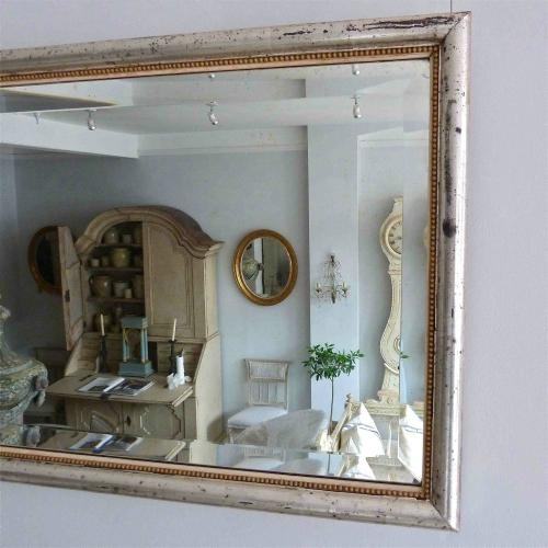 BISTRO WITH RARE BEADED FRAME & BEVELLED GLASS