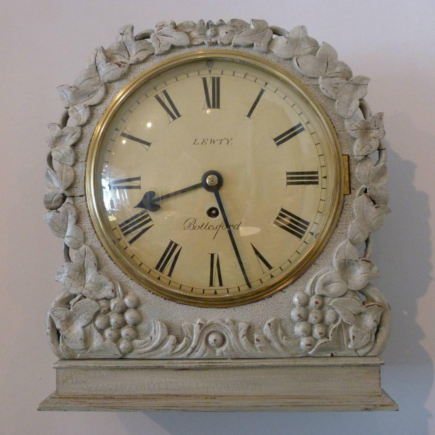 19TH CENTURY ENGLISH DIAL CLOCK