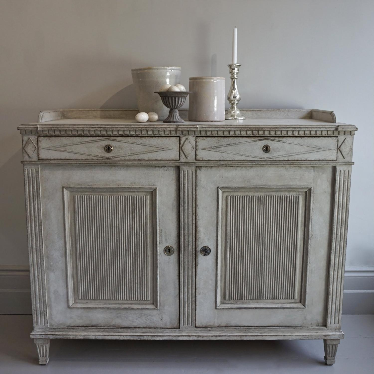 EXCEPTIONAL SWEDISH GUSTAVIAN STYLE SIDEBOARD