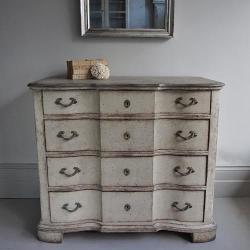 19TH CENTURY SCANDINAVIAN BAROQUE CHEST