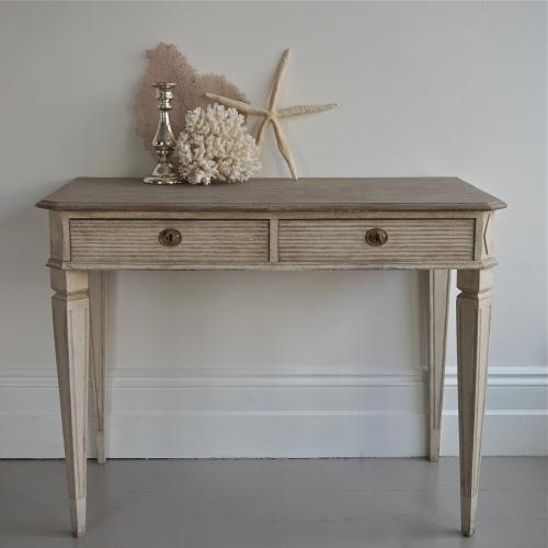 SWEDISH GUSTAVIAN STYLE DESK OR SIDE TABLE