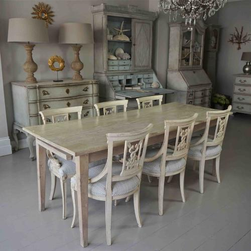 BEAUTIFUL FRENCH FARMHOUSE DINING TABLE
