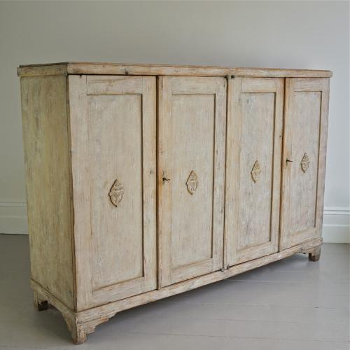 SPLENDID GUSTAVIAN BUFFET IN ORIGINAL PAINT