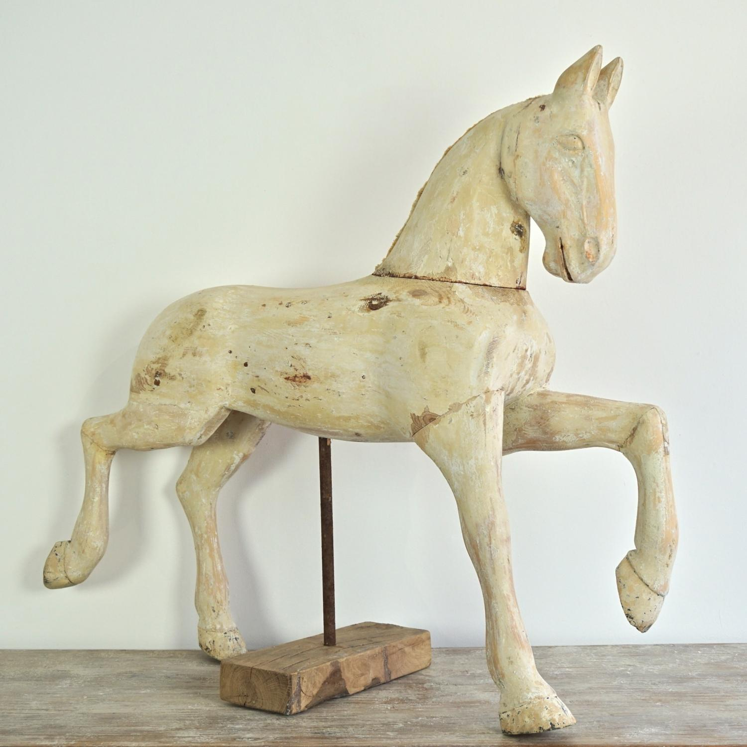 MAGNIFICENT SWEDISH HORSE IN ORIGINAL PAINT