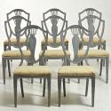 SET OF SWEDISH GUSTAVIAN CHAIRS - picture 1