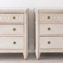 PAIR OF RICHLY CARVED GUSTAVIAN STYLE CHESTS - picture 6