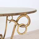 EXTRAORDINARY RÉNE DROUET MIRRORED COFFEE TABLE - picture 5