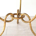 EXTRAORDINARY RÉNE DROUET MIRRORED COFFEE TABLE - picture 6