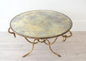 EXTRAORDINARY RÉNE DROUET MIRRORED COFFEE TABLE - picture 8