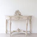 VERY FINE 19TH CENTURY FRENCH MARBLE CONSOLE TABLE - picture 1