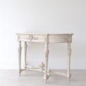 VERY FINE 19TH CENTURY FRENCH MARBLE CONSOLE TABLE - picture 2