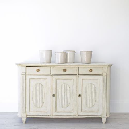 GRAND SCALE SWEDISH GUSTAVIAN STYLE SIDEBOARD
