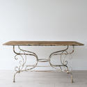 GRAND SCALE 19TH CENTURY FRENCH GARDEN TABLE - picture 2