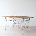 GRAND SCALE 19TH CENTURY FRENCH GARDEN TABLE - picture 3