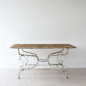 GRAND SCALE 19TH CENTURY FRENCH GARDEN TABLE - picture 4