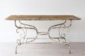 GRAND SCALE 19TH CENTURY FRENCH GARDEN TABLE - picture 6