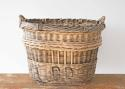 VERY LARGE FRENCH WICKER CHAMPAGNE BASKET - picture 3