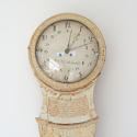 18TH CENTURY SWEDISH LONG CASE CLOCK IN ORIGINAL PAINT - picture 3