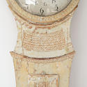 18TH CENTURY SWEDISH LONG CASE CLOCK IN ORIGINAL PAINT - picture 5