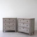 PAIR OF RICHLY CARVED GUSTAVIAN STYLE CHESTS - picture 2