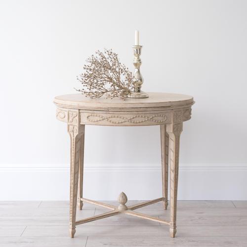 BEAUTIFUL SWEDISH GUSTAVIAN STYLE LAMP TABLE