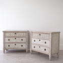 FINE PAIR OF LATE 19TH CENTURY GUSTAVIAN STYLE CHESTS - picture 1