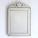 LATE 19TH CENTURY VENETIAN MIRROR WITH CARTOUCHE - picture 1