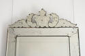 LATE 19TH CENTURY VENETIAN MIRROR WITH CARTOUCHE - picture 2