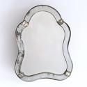 VENETIAN MIRROR WITH RARE ORIGINAL MERCURY GLASS - picture 1