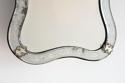 VENETIAN MIRROR WITH RARE ORIGINAL MERCURY GLASS - picture 4