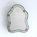 VENETIAN MIRROR WITH RARE ORIGINAL MERCURY GLASS - picture 5