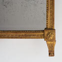 EXTRAORDINARY LOUIS XVI PERIOD MERCURY GLASS MIRROR - picture 5