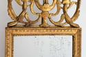 EXTRAORDINARY LOUIS XVI PERIOD MERCURY GLASS MIRROR - picture 7