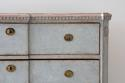 SWEDISH BLUE GUSTAVIAN STYLE BREAK FRONT CHEST - picture 6