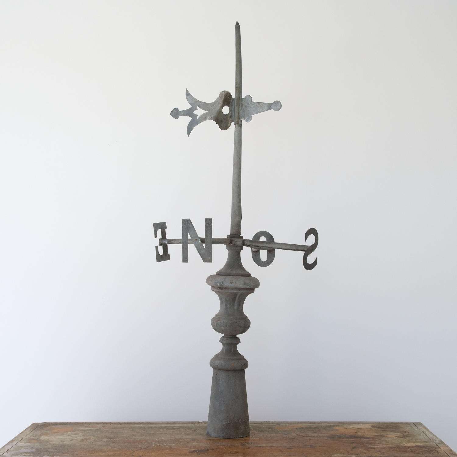 ZINC WEATHERVANE FINIAL