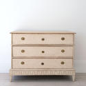 DECORATIVELY CARVED SWEDISH GUSTAVIAN PERIOD CHEST - picture 2