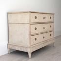 DECORATIVELY CARVED SWEDISH GUSTAVIAN PERIOD CHEST - picture 3