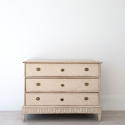 DECORATIVELY CARVED SWEDISH GUSTAVIAN PERIOD CHEST - picture 4