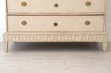 DECORATIVELY CARVED SWEDISH GUSTAVIAN PERIOD CHEST - picture 6