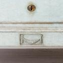 BEAUTIFUL PALE BLUE DANISH GUSTAVIAN PERIOD CHEST - picture 3
