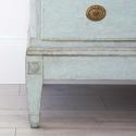 BEAUTIFUL PALE BLUE DANISH GUSTAVIAN PERIOD CHEST - picture 4